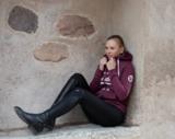 Ps of Sweden rijlegging Mathilde Onyx zwart _