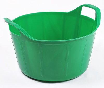 RB 14 liter meadow groen met deksel