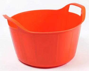 RB 14 liter oranje met deksel
