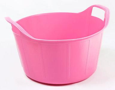 RB 14 liter pink met deksel